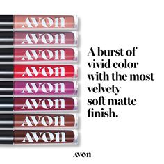 Pucker up with AVON's Mattitude Liquid Lipstick. For lasting color with that velvety soft matte touch, get this trendy liquid lipstick. Shop yours online. Avon Lipstick, Lipgloss, Lipstick Dupes, Lipstick Tricks, Hand Tricks, Mask Duo, Pore Strips, Smooth Lips, Liquid Eyeshadow