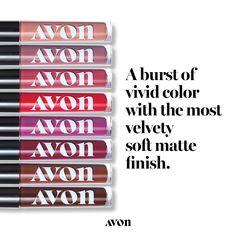 Pucker up with AVON's Mattitude Liquid Lipstick. For lasting color with that velvety soft matte touch, get this trendy liquid lipstick. Shop yours online. Avon Lipstick, Lipgloss, Lipstick Dupes, Lipstick Tricks, Hand Tricks, Pore Strips, Smooth Lips, Liquid Eyeshadow, Avon Representative