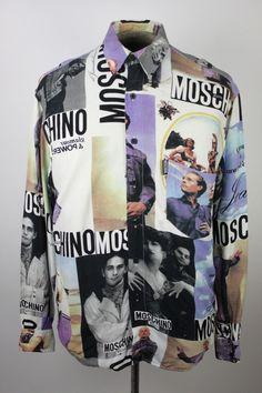 pinterest: @pooh_bossy365   Vintage Moschino Shirt