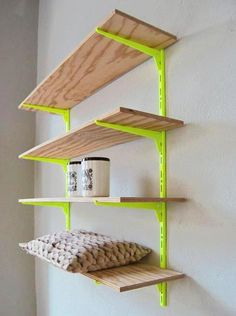 Furniture also neon paint. This works out!- Furniture also neon paint. This works out! Inspiration furniture paint neon color … – Today Pin Furniture also neon paint. This works out! Decor, Home Accents, Home Accessories, Shelves, Home Projects, Interior, Diy Furniture, Painted Furniture, Home Deco