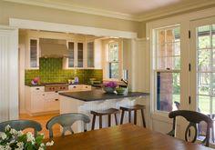 River Point residence, Boston. Albert, Righter & Tittmann Architects. Small kitchen idea.