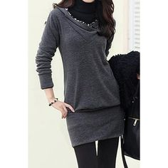 Stylish Long Sleeves Leopard Printed Long Hoodie For Women