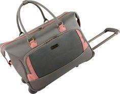 Tommy Bahama Haven Wheeled Weekender Bag Tan/Pink - via eBags.com!