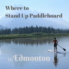 Touring the Canadian Rockies on a Stand Up Paddle Board Banff National Park, National Parks, Wild Sports, Standup Paddle Board, Learn To Surf, Sup Surf, Canadian Rockies, World Of Sports, Bon Voyage