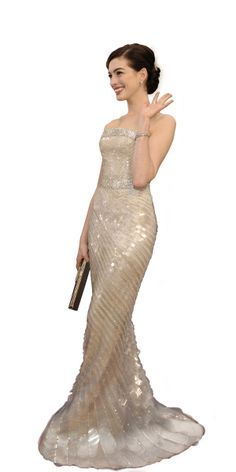 Oscars most iconic - 2009 - Anne Hathaway - Armani Privé