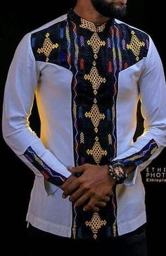 African Wear Styles For Men, African Shirts For Men, African Dresses For Kids, African Attire For Men, African Clothing For Men, African Print Dresses, African Men Style, African Suits, African Design