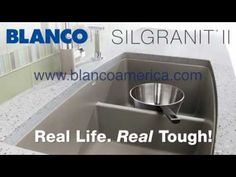 BLANCO SILGRANIT II Chip Resistant Sinks. Real Life. Real Tough. Video must see!