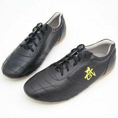 ac4308672 Sponsored(eBay) Martial Art Karate Taekwondo Shoe Kung Fu Genuine Leather Shoes  Tai Chi