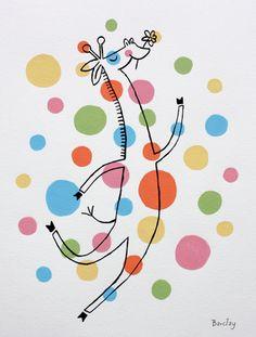 Giraffe Jester! Eric Barclay