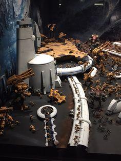MUST SEE 40K Moon Base Tau - GW Battle Diorama