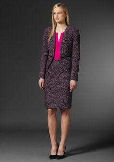 CALVIN KLEIN Patterned Suit Jacket