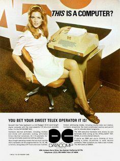 Vintage Ad, Telex