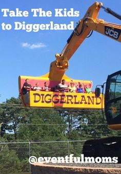 Take the Kids to Diggerland Construction-Themed Amusement Park