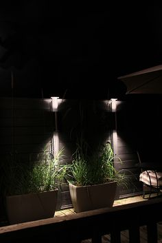 Little House Blog - outdoor lights for deck