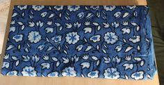 2.5 yard Indigo Blue print 100% cotton fabric Dabu Print Fabric Hand Block Print Fabric dress Fabric Hand Made Fabric Flower Design Fabric by BLOCKPRINTFABRIC on Etsy