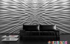 Dekoracyjny panel ścienny Loft System - DEKOR 01 o wymiarze 3d Wallpaper Panels, 3d Wall Panels, Home Wallpaper, Flur Design, Loft Design, Wall Design, 3d Wandplatten, 3d Wall Murals, Decorative Wall Panels