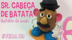 DIY- Sr Cabeça de Batata (Mr Potato Head) - Especial 8 mil inscritos - S...