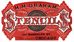 All Things Ruffnerian, a Design Blog and More: Decorative Victorian Typography