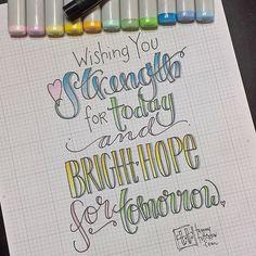 Hand lettering inspiration