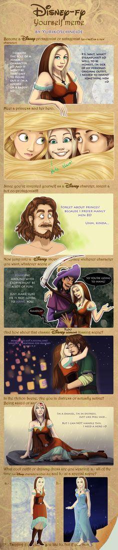 Disney-fy Yourself Meme by YurikoSchneide on DeviantArt