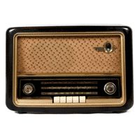 Let's hope my parents did not sell their old radio I requested in the garage sale....