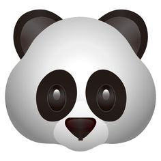 An adorable black and white panda will make your messages and posts unbearably cute! Emoji Images, Emoji Pictures, Panda Wallpapers, Dope Wallpapers, Apple Emojis, Panda Emoji, Emoji Tattoo, All Emoji, Emoji Drawings