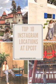 BEST Instagram spots at Disney's Epcot