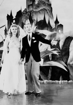 Ginger Rogers and Fred Astaire in Carefree, 1938