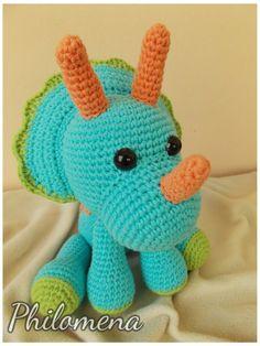de176a0144a Triceratops by Philomena