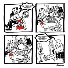 Недавняя съемка короткометражки вдохновила меня нарисовать короткий комикс про работу режиссера с актером на площадке…) #Съемка #работасактером #stadnikov  #комикс  #cтадников  #comics  #stadnikovcomics  #стадниковкомикс  #Карикатура  #карикатурыстадникова
