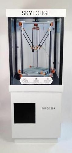 3D Printed Food. Skyforge, a vending machine for your 3D-printed dreams Remember to subscribe  - Original post: http://pinterest.com/pin/283375001527733842/