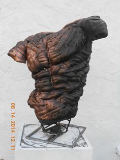 Recycled Tyre Sculpture
