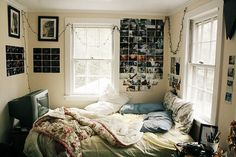 • love cute life Cool hippie hipster room design sleep follow back Home indie Grunge bed Cuddle bohemian cozy Window pillows messy indieminduk •