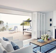 A perfect seaside retreat #wishwewerehere Photography: Hugh Stewart Via: Bannisters By The Sea
