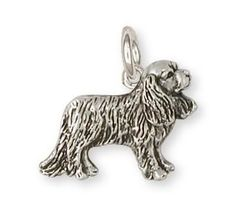 814cbacc0ecd Cavalier King Charles Spaniel Charm Jewelry Handmade Sterling Silver CV10-C  This is an original