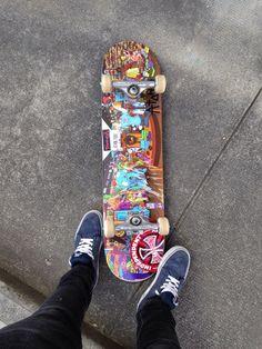 Skateboards Discover saint Happiness starts with you /Asiaskate/ Skateboard Photos, Skateboard Deck Art, Skate Photos, Skateboard Design, Skateboard Girl, Skate And Destroy, Snowboard Girl, Skate Girl, Cool Skateboards