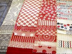 Moda fabric - Sweetwater's new collection.