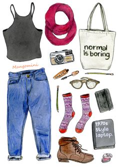 Back to school Hipster Cindy Mangomini