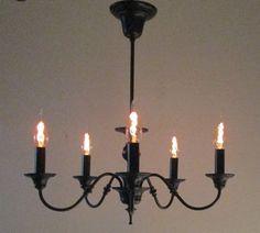 Steampunk Lamp vintage industrial chandelier by Steampunklights