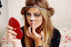 Bambi / Deer Makeup Tutorial