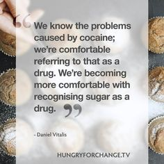 Something to think about...   www.hungryforchange.tv