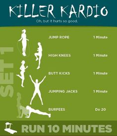 Killer Kardio // Få pulsen op