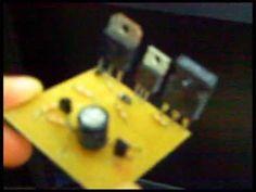 Amplificador de áudio simples e potente TIP31 - YouTube