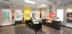 Sunningdale Optometry Office renovation. Optometry Office, Medical Office Design, Internal Design, Shop Fittings, Green Building, Service Design, Dawson Creek, Office Ideas, Store
