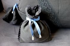 Pouch No. 182 by KakaduArt on Etsy