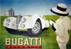 1920s advertisements | Ads Automobiles Bugatti Cars Races Design Posters Advertisements ...