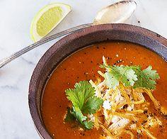 An Arizona Native's Go-To Chicken Tortilla Soup - Gaby Dalkin