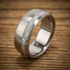 Titanium Grooved Ridged Edge 10mm Brushed Wedding Ring Band Size 13.50 Fashion Refreshment Bridal & Wedding Party Jewelry