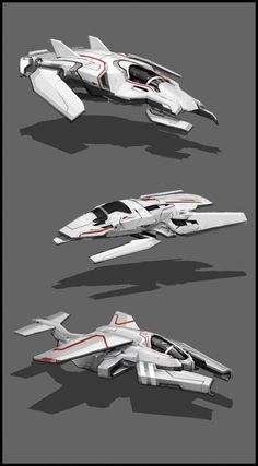 Here are some spaceship sketches from not too long ago. Spaceship Art, Spaceship Design, Cyberpunk, Concept Ships, Concept Cars, Arte Robot, Robot Art, Nave Star Wars, Starship Concept