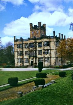 Elizabethan Gawthorpe Hall, Lancashire, England, built by the Shuttleworths as a defence against invading Scots.